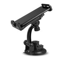 Adjustable Car Windshield Mount Phone Holder - Black