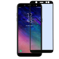 Full Coverage Premium 2.5D Round Edge HD Tempered Glass Screen Protector for Samsung Galaxy A6 (2018) - Black