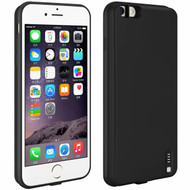 Ultra Thin Smart Power Bank Battery Charger Case 4200mAh for iPhone 6 Plus / 6S Plus - Black