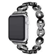 *SALE* Stainless Steel Diamond Chain Watch Band for Apple Watch 40mm / 38mm - Black