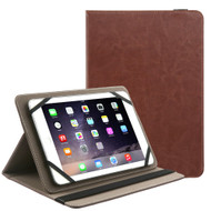 Universal Leather Kickstand Cover - Brown