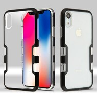 TUFF Panoview Transparent Hybrid Case for iPhone XR - Black