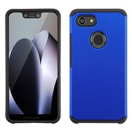 Hybrid Multi-Layer Armor Case for Google Pixel 3 XL - Blue