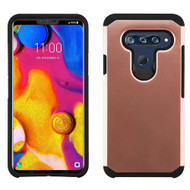 Hybrid Multi-Layer Armor Case for LG V40 ThinQ - Rose Gold