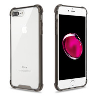 Ultra Hybrid Shock Absorbent Crystal Case for iPhone 8 Plus / 7 Plus - Smoke