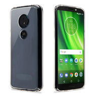 Ultra Hybrid Shock Absorbent Crystal Case for Motorola Moto G6 Play / G6 Forge - Clear