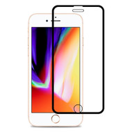 Edge to Edge Full Adhesive Tempered Glass Screen Protector for iPhone 8 Plus / 7 Plus / 6S Plus / 6 Plus - Black