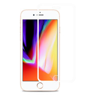 Edge to Edge Full Adhesive Tempered Glass Screen Protector for iPhone 8 Plus / 7 Plus / 6S Plus / 6 Plus - White