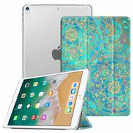 Smart Leather Hybrid Case with Translucent Back Cover for iPad Pro 10.5 inch - Mandala