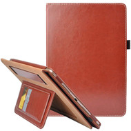 Workman Smart Leather Folio Case with Stand and Hand Strap for iPad Pro 10.5 inch - Brown