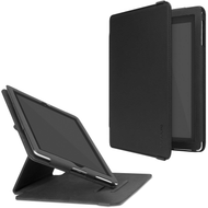 Incase Book Jacket Revolution Leather Case for iPad (2018/2017) / iPad Air - Black
