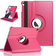 360 Degree Smart Rotating Leather Case for iPad Pro 11 inch - Hot Pink