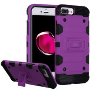 Military Grade Certified Storm Tank Hybrid Armor Case with Stand for iPhone 8 Plus / 7 Plus / 6S Plus / 6 Plus - Purple