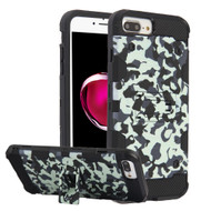 Military Grade Certified Storm Tank Hybrid Armor Case with Stand for iPhone 8 Plus / 7 Plus / 6S Plus / 6 Plus - Camouflage