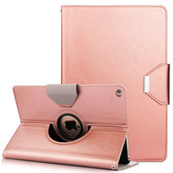 360 Degree Book-Style Smart Rotating Leather Case for iPad Pro 10.5 inch - Rose Gold