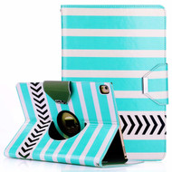 360 Degree Book-Style Smart Rotating Leather Case for iPad Pro 10.5 inch - Striped Arrow