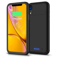 Smart Power Bank Battery Charger Case 5500mAh for iPhone XR - Black