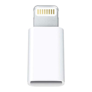 Micro USB to Lightning Adapter - White