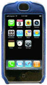 Lightweight Sports Case and Screen Protector for Apple iPhone (Blue)