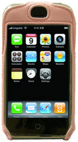 Lightweight Sports Case and Screen Protector for Apple iPhone (Pink)