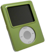 Aluminum Armor Shield Case for 3rd Generation iPod Nano (Green)