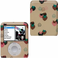 Snap-On Protective Hard Case for 3rd Generation iPod Nano (Strawberry)