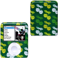 Snap-On Protective Hard Case for 3rd Generation iPod Nano (Cherry/Green)