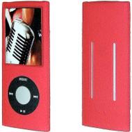 Anti-Slip Silicone Skin for 4th Generation iPod Nano (Red)