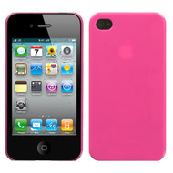 Aero Shell Case and Screen Protector for Apple iPhone 4 / 4S - Pink
