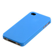 Aero Shell Case and Screen Protector for Apple iPhone 4 / 4S - Turquoise