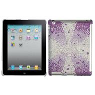 Diamante SmartSlim Case for iPad 2, iPad 3 and iPad 4th Generation - Purple Starburst Gem Gradients