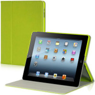 *SALE* Platinum Collection Polycouture Canvas Hybrid Smart Case for iPad 2, iPad 3 and iPad 4th Generation - Green