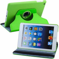 *SALE* 360 Rotating Leather Hybrid Smart Case for iPad Mini - Green