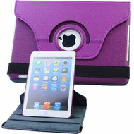 *SALE* 360 Rotating Leather Hybrid Smart Case for iPad Mini - Purple