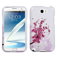 *SALE* Snap-On Protective Image Case for Samsung Galaxy Note II - Spring Flowers