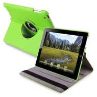 *SALE* Smart Rotary Leather Case for iPad 2, iPad 3 and iPad 4th Generation - Green