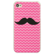 Aero Designer Case and Screen Protector for iPhone 4 / 4S - Mustache