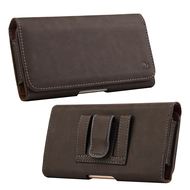 Professional Leather Folio Case - Brown