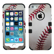 Military Grade Certified TUFF Image Hybrid Case for iPhone SE / 5S / 5 - Baseball