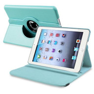 *SALE* 360 Degree Smart Rotary Leather Case for iPad (2018/2017) / iPad Air - Baby Blue