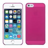 Polypropylene Skin Case for iPhone SE / 5S / 5 - Hot Pink