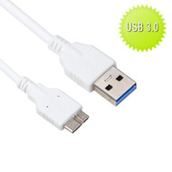 SuperSpeed 3.0 USB Data Sync and Charging Cable - White