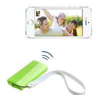 Selfie Mate Multifunctional Bluetooth Wireless Remote Control - Green