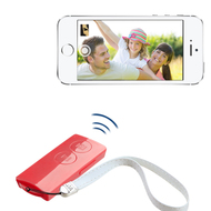 Selfie Mate Multifunctional Bluetooth Wireless Remote Control - Pink