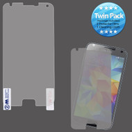 Crystal Clear Screen Protector for Samsung Galaxy S5 - Twin Pack