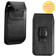 *SALE* Vertical Leather Hip Case - Black