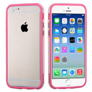 Hybrid Bumper Case for iPhone 6 / 6S - Pink Clear