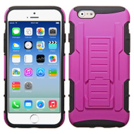 Robust Armor Stand Protector Cover for iPhone 6 / 6S - Hot Pink