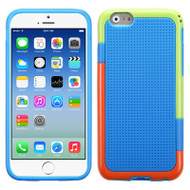 Multi-Color Perforated TPU Case for iPhone 6 / 6S - Blue
