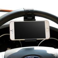 *SALE* Steering Wheel Smartphone Bracket Holder - Black